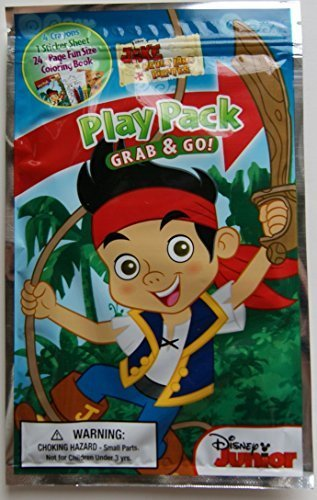 Disney Junior Jake and the Neverland Pirates Grab and Go Play Pack - 1