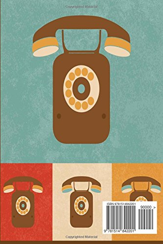My Address Book: Retro Icons Telephones, 6 x 9, 111 pages