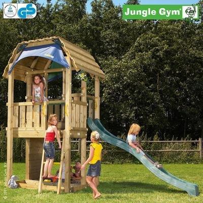 Jungle Gym Spielturm BARN ohne Rutsche günstig kaufen