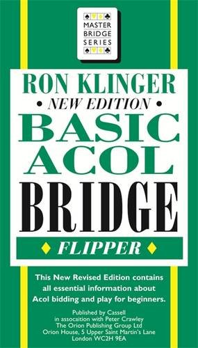 Basic Acol Bridge Flipper (Master Bridge Series)
