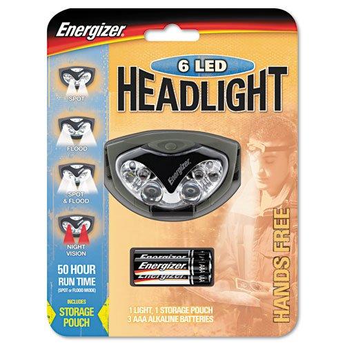 Energizer - Led Headlight, 3 Aaa, Green Hdl33A2E (Dmi Ea