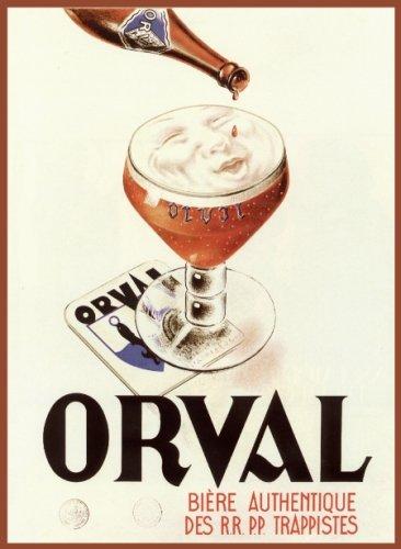 orval-villes-devant-orval-1931-beer-ad-poster