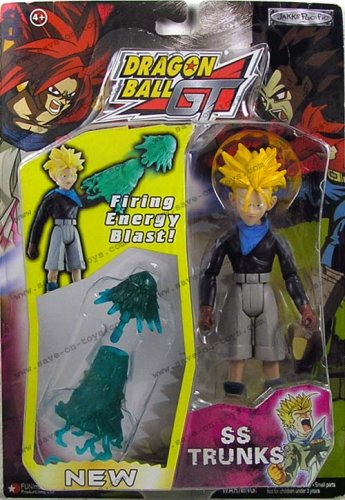 Picture of Jakks Pacific Dragon Ball GT Series 3 SS4 Gogeta with Energy Flash Action Figure (B0006HTQ0C) (Dragon Ball Action Figures)
