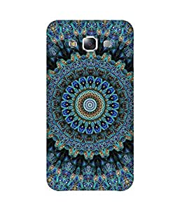 Blue Mandala Samsung Galaxy E7 Case