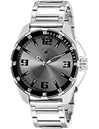 fastrack watches buy fastrack watches for men women online at fastrack analog grey dial men s watch 3084sm02