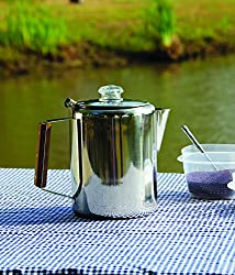 Texsport 28 Cup Stainless Steel Percolator from Texsport