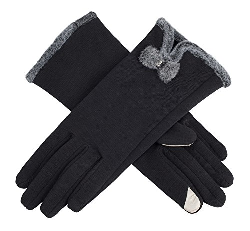 IL Caldo Women's NEW Screentouch Thick Warmer Weather Gloves