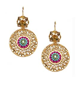 """Amazon.com: Mariana Antique Gold Plated """"Happy Days"""" Collection"""