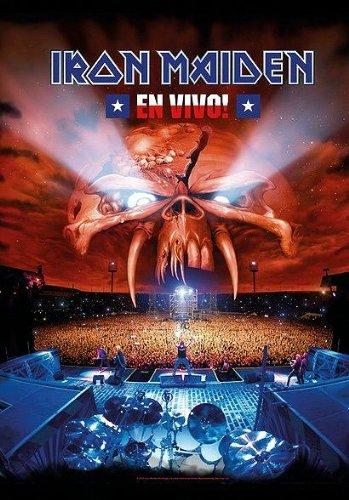 Iron Maiden Poster Bandiera bandiere en Vivo