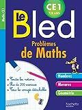 Cahier Bled Problèmes De Maths CE1...