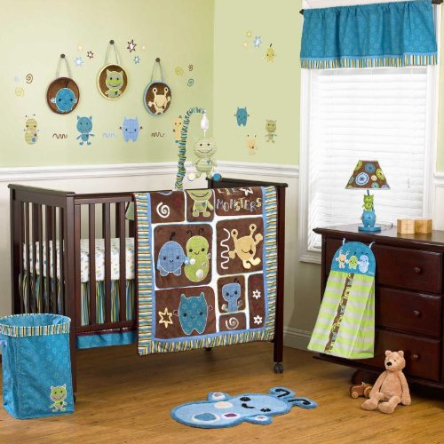 Baby Monster Bedding 9979 front