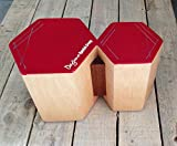 DAYMO : BONGOJON - Hexagonal Wooden Bongos/Cajon