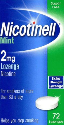 Nicotinell Lozenge Mint 2mg - 72 Lozenges