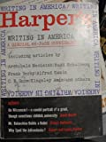Harpers Magazine - Writing in America - October 1959