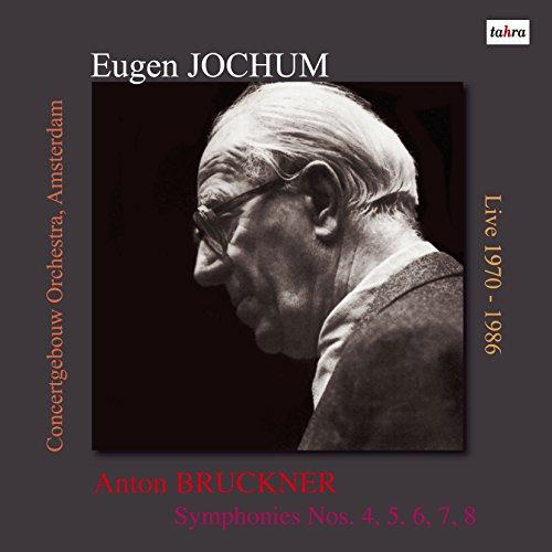 ブルックナー : 交響曲集成 ~ 第4、5、6、7、8番 (Anton Bruckner : Symphonies Nos. 4, 5, 6, 7, 8 / Eugen Jochum & Concertgebouw Orchestra, Amsterdam) [Live 1970-1986] [10LP] [Limited Edition] [Analog]
