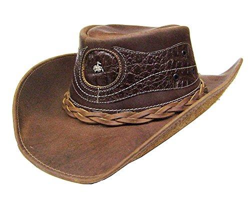 modestone-mens-leather-sombrero-vaquero-crocodile-skin-pattern-applique-xxl-brown