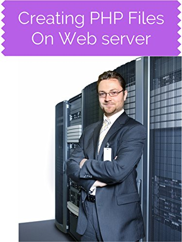Creating PHP Files On Web server
