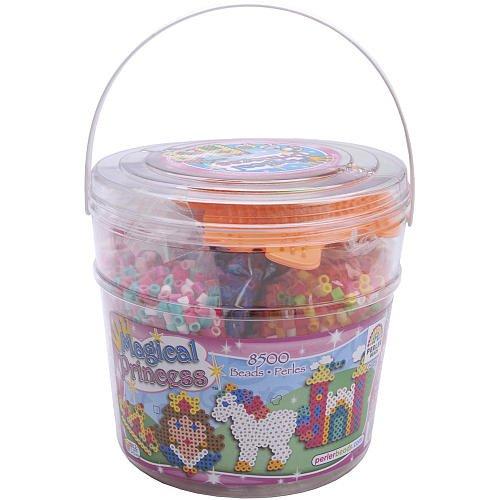 Perler Fuse Bead Activity Bucket, Magic Princess