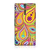Ecell - HEAD CASE KIWI PAISLEY PATTERN SNAP-ON BACK CASE COVER FOR SONY XPERIA S LT26i