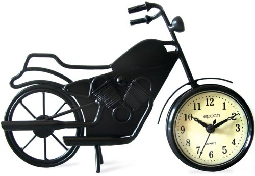 Maple's Clock Maples Clock - Motorcycle Shilouette Table/Wall Clock