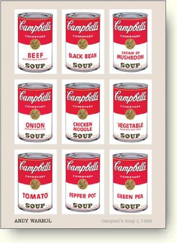 アンディ・ウォーホル Campbell's Soup I, 1968 アートポスター