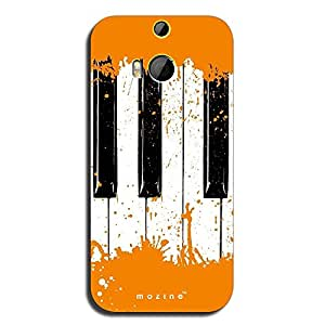 Mozine Orange Piano printed mobile back cover for HTC one m9 Plus