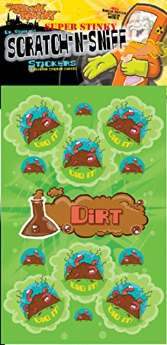 Scratch-N-Sniff Stickers- Dirt