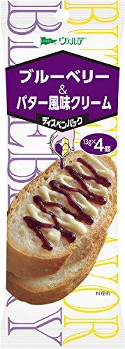 ヴェルデ ディスペンパック ブルーベリー&バター風味クリーム 13g×4P×4個