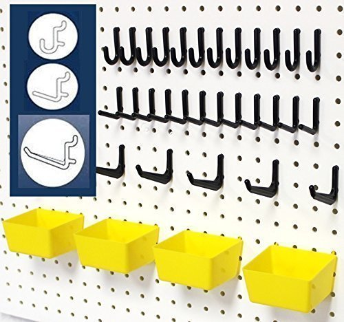 WallPeg Storage System (43 Pieces)