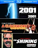 2001: A Space Odyssey / Clockwork Orange / Shining [Blu-ray] (Bilingual)