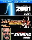 2001: A Space Odyssey / Clockwork Orange / Shining [Blu-ray] (Bilingual)