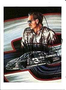 Dale Earnhardt Sr Signed GM GOODWRENCH SERVICE 4x6 Signed Auto Photo Card - Signed... by Sports Memorabilia