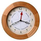 Oak Day 11.87 in. Wall Clock
