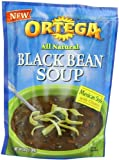 B&G Foods Ortega Black Bean Soup Mix, 4.6-Ounce (Pack of 6)