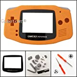 Gametown Full Housing Shell Cover Case Pack for Nintendo Gameboy Advance GBA Repair Part Color Orange
