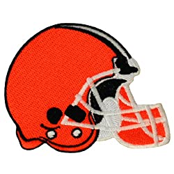 Cleveland Browns Helmet Logo Embroidered Iron Patches
