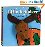 Little Reindeer: Finger Puppet Book (...