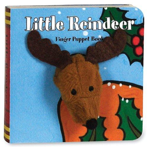 Little Reindeer: Finger Puppet Book