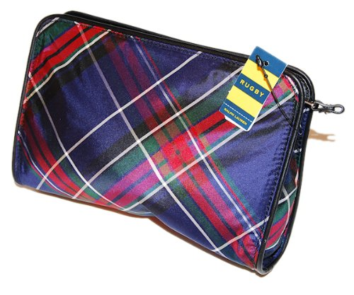 Polo Ralph Lauren Holiday Clutch Pouch Tote Plaid Bag