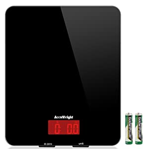 accuweight digital multifunction food meat scale with LCD display perfect for baking kitchen cooking review