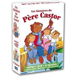 Les Histoires du Père Castor - Coffret 3 DVD