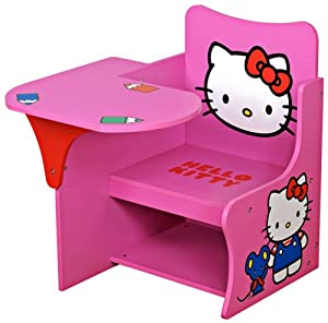 Hello Kitty Study Kids Writing Desk from Universal Lighting and Decor