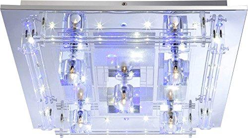 wohnzimmerlampen dimmbar:LED Deckenlampe mit Farbwechsel (Deckenleuchte inkl. Leuchtmittel