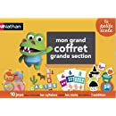 Nathan - 31413 - Jeu Educatif et Scientifique - Grand Coffret Grande Section