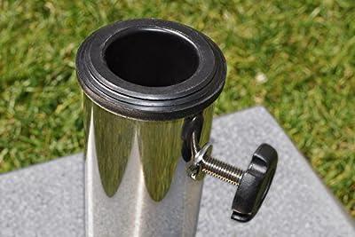 paramondo Sonnenschirm Schirmständer Granit quadratisch von PARAMONDO auf Gartenmöbel von Du und Dein Garten