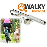 Walky Dog Plus Hands Free Dog Bicycle Exerciser Leash 2015 Newest Model with 550-lbs pull strength Paracord Leash Military Grade