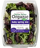 Taylor Farms Organic Spring Mix, 5 oz Clamshell