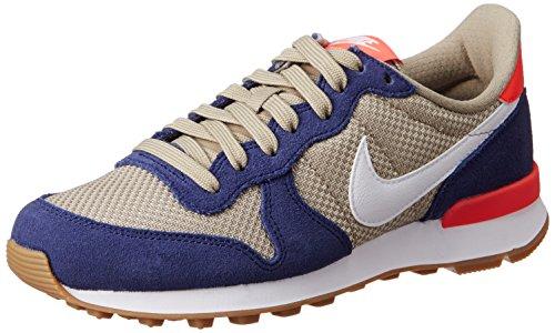 Nike Wmns Internationalist Scarpe da corsa, Donna, Multicolore (Loyal Blue/White-Bamboo), 38