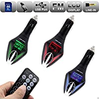 REALMAX® Car Music FM Transmitter universally compatible with all Brand mobiles MP3 Players Tablets & all car models