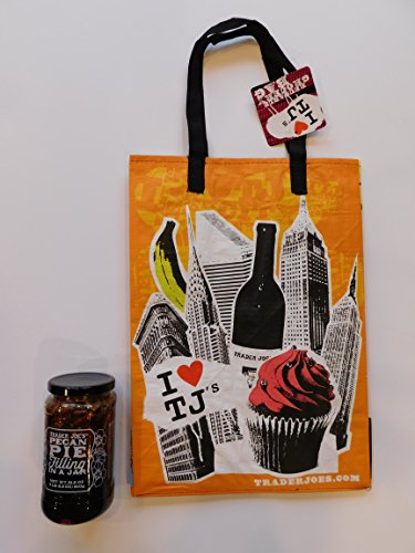 Trader Joe's Pecan Pie Filling In A Jar And NY Reusable NY Shopping Bag (Pecan Pie In A Jar compare prices)